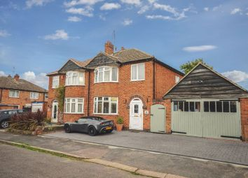 Thumbnail 3 bedroom semi-detached house for sale in Bradgate Drive, Wigston, Leicester