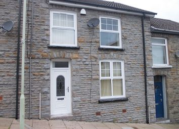 Thumbnail 4 bed terraced house to rent in Ravenhill Street, Gelli, Pentre, Rhondda, Cynon, Taff.