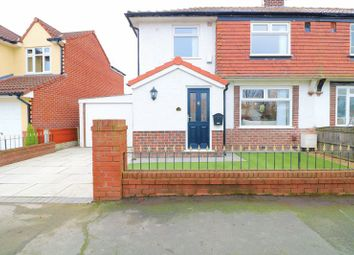 Thumbnail 3 bed semi-detached house for sale in Kingston Drive, Urmston, Manchester