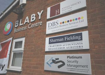 Thumbnail Office to let in Blaby Business Centre Suite 2, 33, Leicester Road, Blaby, Leicestershire