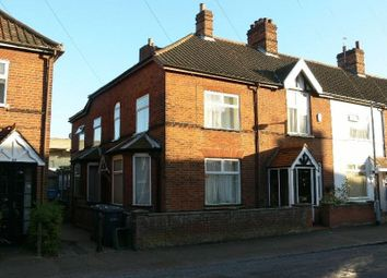 Thumbnail 4 bedroom end terrace house for sale in Ashby Street, Norwich