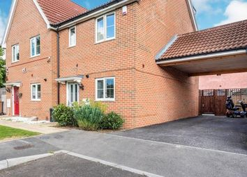 Thumbnail 3 bed semi-detached house for sale in Leaf Hill Drive, Romford