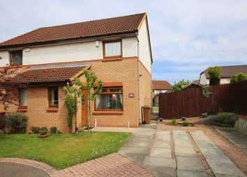 Thumbnail 2 bedroom semi-detached house for sale in Valgreen Court, Dundee