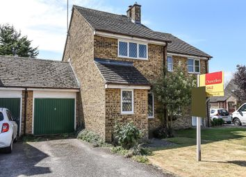 Thumbnail 2 bed semi-detached house for sale in Blakes Avenue, Witney