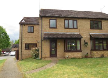 Thumbnail 4 bed semi-detached house for sale in Sentinel Road, West Hunsbury, Northampton