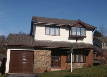Thumbnail 4 bed detached house for sale in The Meadows, Cimla, Neath.