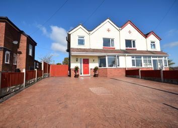 Thumbnail 3 bed semi-detached house for sale in Chester Road, Malpas