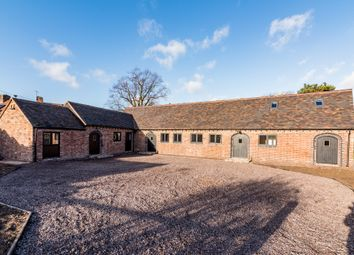 Thumbnail 4 bed barn conversion for sale in Fir Tree Lane, Gun Hill, Coventry