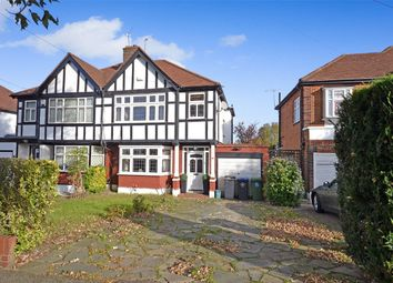 Thumbnail 3 bedroom semi-detached house for sale in Carlton Avenue West, Wembley, Middlesex