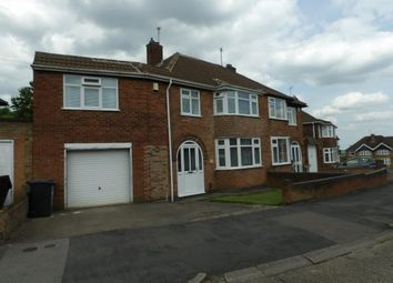 Thumbnail 4 bedroom semi-detached house for sale in Queensgate Drive, Birstall, Leicester, Leicestershire
