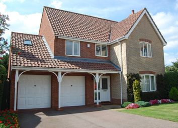 Thumbnail 5 bed detached house for sale in Crane Close, Woodbridge