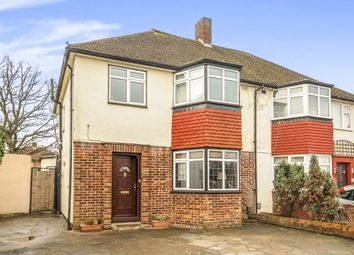 Thumbnail 3 bed semi-detached house for sale in Cunliffe Road, Epsom