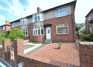 Thumbnail 2 bed flat for sale in Wych Elm Crescent, High Heaton, Newcastle Upon Tyne