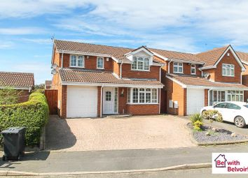 Thumbnail 4 bed detached house for sale in Nightingale Crescent, Willenhall