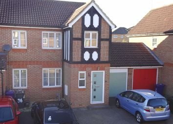 Thumbnail 2 bed semi-detached house for sale in Blackdown Close, Great Ashby, Stevenage, Herts