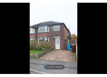 Thumbnail 4 bed semi-detached house to rent in Morning Side Drive, East Didsbury