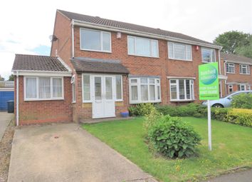Thumbnail 3 bed semi-detached house for sale in Launceston Close, Tamworth