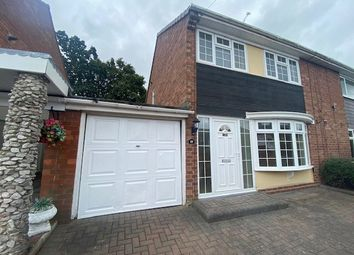 Thumbnail 3 bed semi-detached house to rent in Lodge Road, Brereton, Rugeley