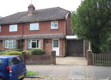 Thumbnail Semi-detached house for sale in School Hill, Rusper, West Sussex