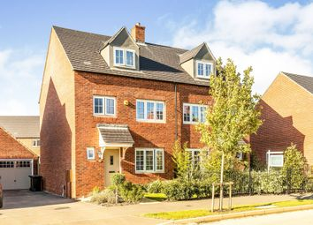 Thumbnail 4 bed semi-detached house for sale in Tyrrell Road, Banbury