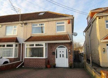 Thumbnail 3 bed end terrace house for sale in Middle Road, Kingswood, Bristol