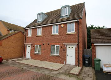 Thumbnail 3 bed semi-detached house for sale in Pel Crescent, Oldbury, West Midlands