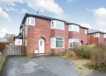 Thumbnail 3 bedroom semi-detached house for sale in Davehall Avenue, Wilmslow, Cheshire