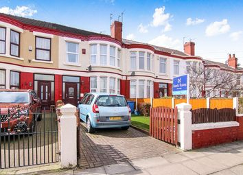 Thumbnail 3 bed terraced house for sale in Marlborough Road, Tuebrook, Liverpool