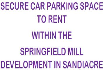 Thumbnail Parking/garage to rent in Springfield Mill, Sandiacre, Nottingham