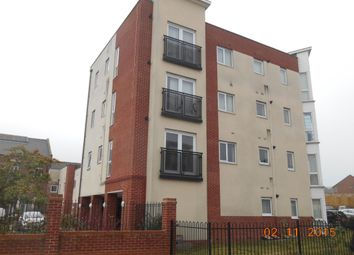 Thumbnail 1 bed flat to rent in Crownford Avenue, Joiners Square, Hanley, Stoke-On-Trent