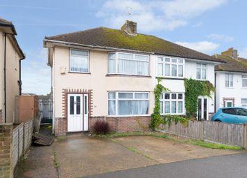 Thumbnail 3 bedroom semi-detached house to rent in Osborne Road, Willesborough, Ashford