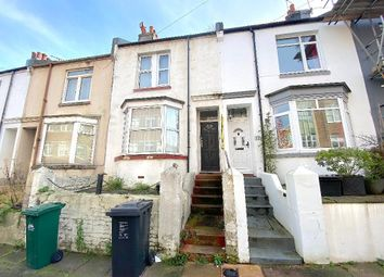 Thumbnail 3 bed terraced house to rent in Dewe Road, Brighton, East Sussex