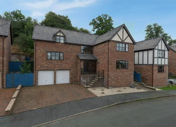 Thumbnail 4 bedroom detached house for sale in Malt Rise, Crew Green, Shrewsbury, Powys