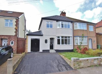 Thumbnail 3 bed semi-detached house for sale in Forest Road, Heswall, Wirral