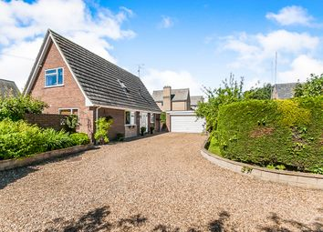 Thumbnail 3 bed detached house for sale in Gas Lane, Thorney, Peterborough