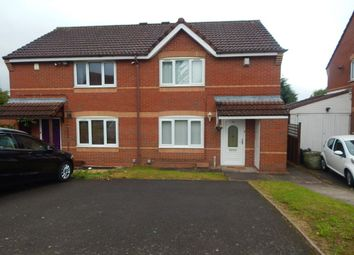 Thumbnail 2 bed semi-detached house for sale in Woodcock Lane, Northfield, Birmingham
