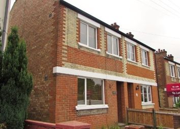 Thumbnail 3 bed semi-detached house to rent in Sproughton Road, Ipswich