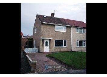 Thumbnail 2 bedroom semi-detached house to rent in Rydal Crescent, Peterlee