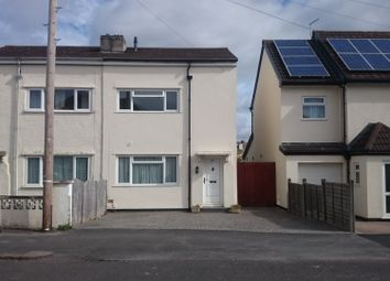 Thumbnail 3 bed terraced house to rent in Wades Road, Bristol`