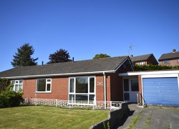 Thumbnail 2 bed bungalow for sale in Perry Road, Rhewl, Gobowen, Oswestry