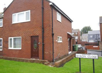 Thumbnail 3 bed semi-detached house for sale in Byron Close, Choppington