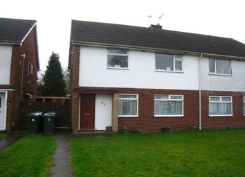 Thumbnail 2 bed flat for sale in Falcon Avenue, Binley, Coventry