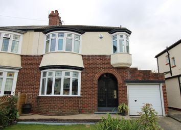 Thumbnail 3 bed semi-detached house for sale in Crayke Road, Hartburn, Stockton-On-Tees