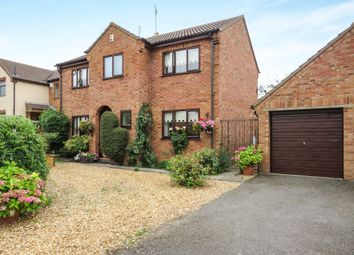 Thumbnail 4 bedroom detached house for sale in Old Stable Walk, Bury, Huntingdon