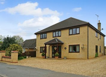 Thumbnail 5 bedroom detached house for sale in Guntons Road, Newborough, Peterborough, Cambridgeshire