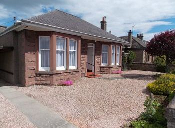 Thumbnail 2 bed detached bungalow to rent in Holyrood Street, Carnoustie