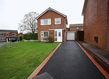 Thumbnail 3 bed detached house for sale in Lockerbie Close, Leek, Staffordshire