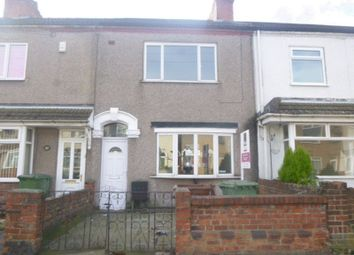 Thumbnail Terraced house to rent in Wellington Street, Grimsby
