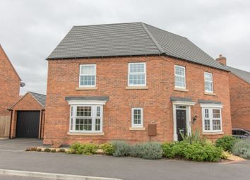 Thumbnail 4 bed detached house for sale in Barnards Way, Kibworth