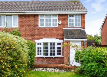 Thumbnail 3 bed semi-detached house for sale in Dryfield Close, Greasby, Wirral